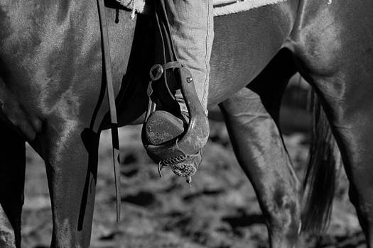 Michelle Wrighton - Legs Black and white