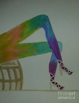 Legs of a Different Color by Marie Bulger