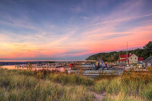 Leland Sunset by Megan Noble