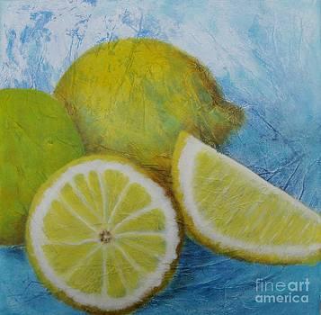 Lemons no 2 by Lisbet Damgaard