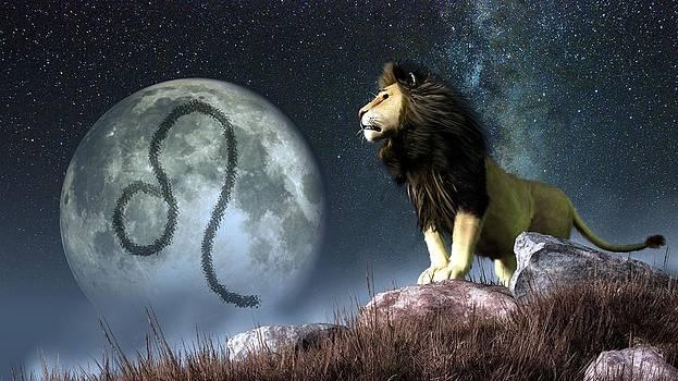 Daniel Eskridge - Leo Zodiac Symbol