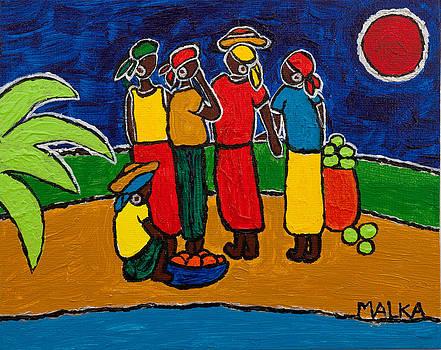 Les Femmes II by Marlene MALKA Harris