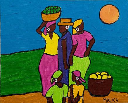 Les Femmes III by Marlene MALKA Harris