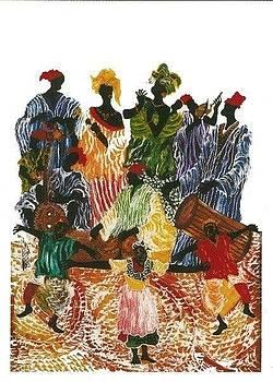 Les musicians  by Aziz Diagne