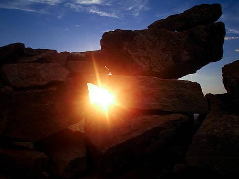 Let The Light Shine Through by Jen Baptist
