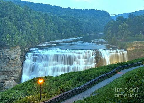 Adam Jewell - Letchworth Middle Falls Lights