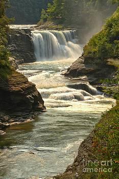 Adam Jewell - Letchworth Lower Falls Portrait
