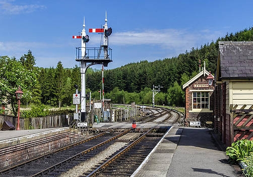 Levisham Station by Trevor Kersley