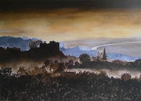 Lewes Castle by Andy Davis