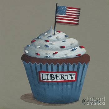 Liberty Cupcake by Catherine Holman
