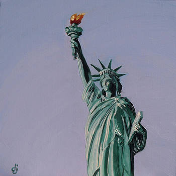 Liberty's Flame by Dorothy Jenson