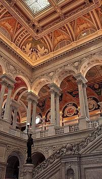 Library of Congress 4 by Linda Russell
