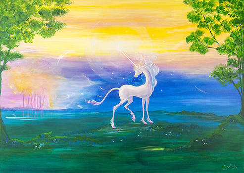 Licorne by Barbara Klimova