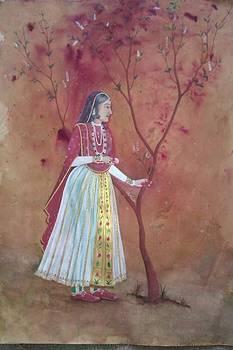 Life Drawing by Kiran Firdous