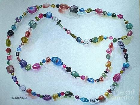 Life is a String of Beads  by Barbra Joan