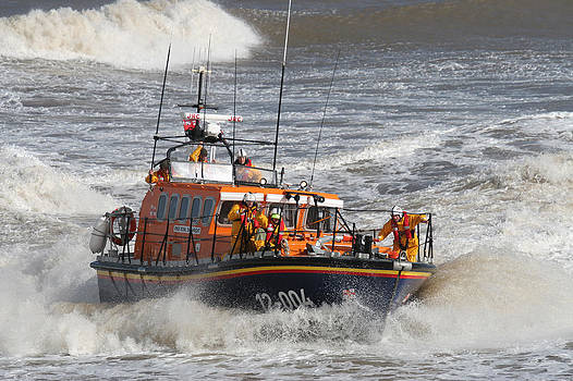 Lifeboat -Mersey Class ALB by Paul Lilley