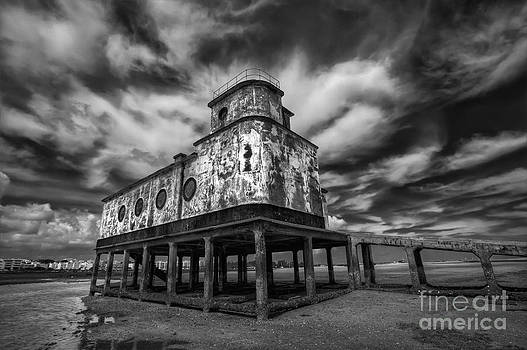 English Landscapes - Lifeboat Station BW