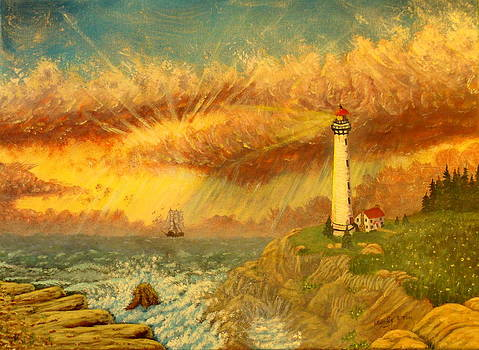 Light That Guides Thee  by David Bentley