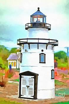 Edward Fielding - Lighthouse at Old Saybrook Point