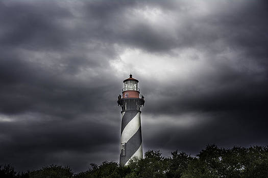 Judy Hall-Folde - Lighthouse Behind the Trees