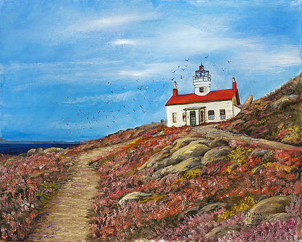 Lighthouse by Diane Gowin