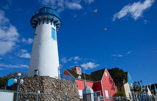 Lighthouse in Fisherman's Village by Nina Prommer