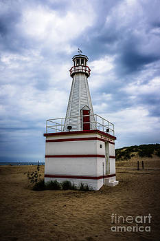 Paul Velgos - Lighthouse in New Buffalo Michigan