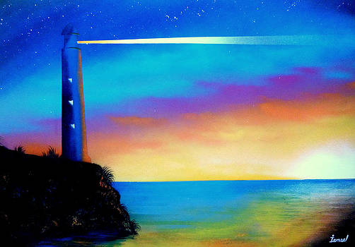 Lighthouse by Ismael Paint