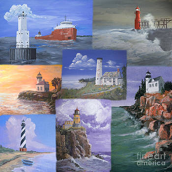 Jerry McElroy - Lighthouse Montage