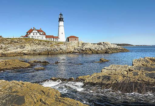 James Steele - Lighthouse Portland Maine