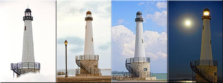 Lighthouse X4 by Randy  Shellenbarger