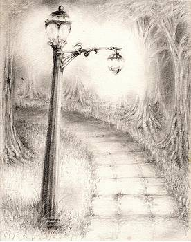 Lighting The Path by Rudy Cepeda