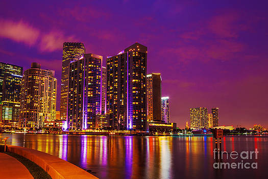 Lights and Buildings by Nicholas Tancredi
