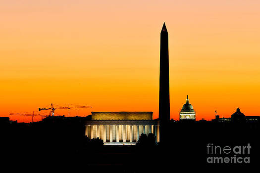 Lights Out In DC by Paul Frederiksen