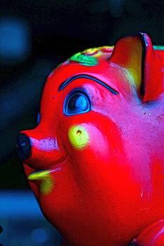 Lil Red Piggy by Randy  Shellenbarger