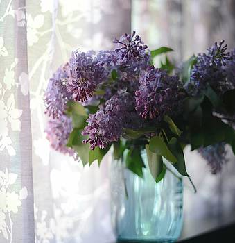 Lilac Morning by Linda Mishler