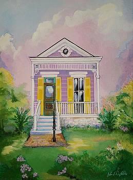 Lilac Shotgun by John  Duplantis