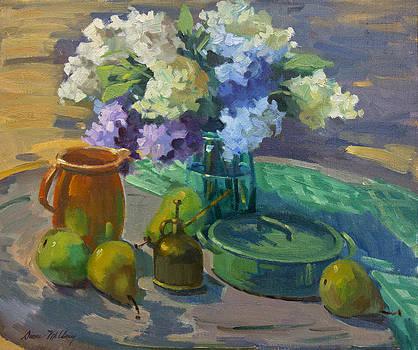 Diane McClary - Lilacs Harmony in Green