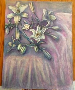 Lillies by Genevieve Elizabeth