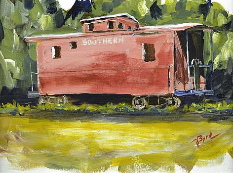 Lillington Caboose by Joe Byrd