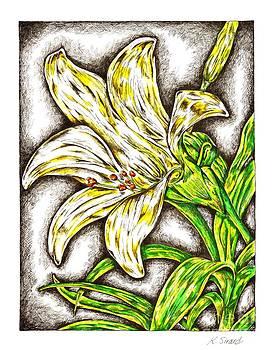 Lilly Flower by Karen Sirard
