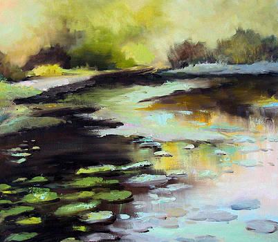 Lilly Pond by Patricia Seitz