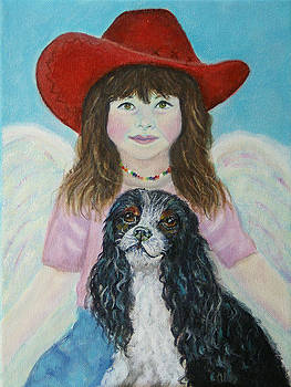 Lily Little Angel of Self Empowerment by The Art With A Heart By Charlotte Phillips