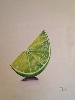 Lime Wedge by Justin Lee Williams