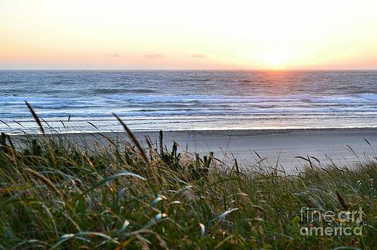 Lincoln City Sunset by Shauna Fackler