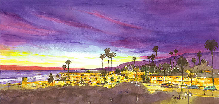 Linden at Sunset by Ray Cole