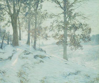 Walter Launt Palmer - Lingering Oak Leaves