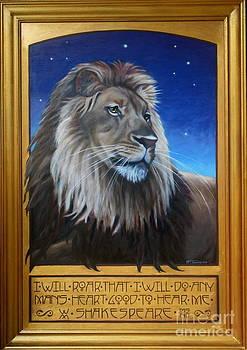 Lion I by Teri Tompkins