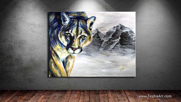 Teshia Art - Ghost of the Mountains DISPLAY IMAGE ONLY