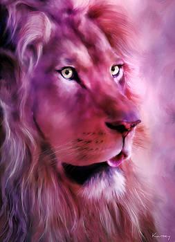 Lion portrait by Johanne Dauphinais